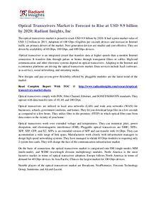 Optical Transceivers Market 2020