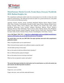 Metal Fastener Market Growth, Trend,Share, Forecast, Worldwide 2018