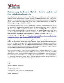 Pediatric Drug Development Market