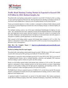 Traffic Road Marking Coating Market