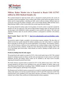 Military Radar Market Size is Expected to Reach USD 13,779.7 Million