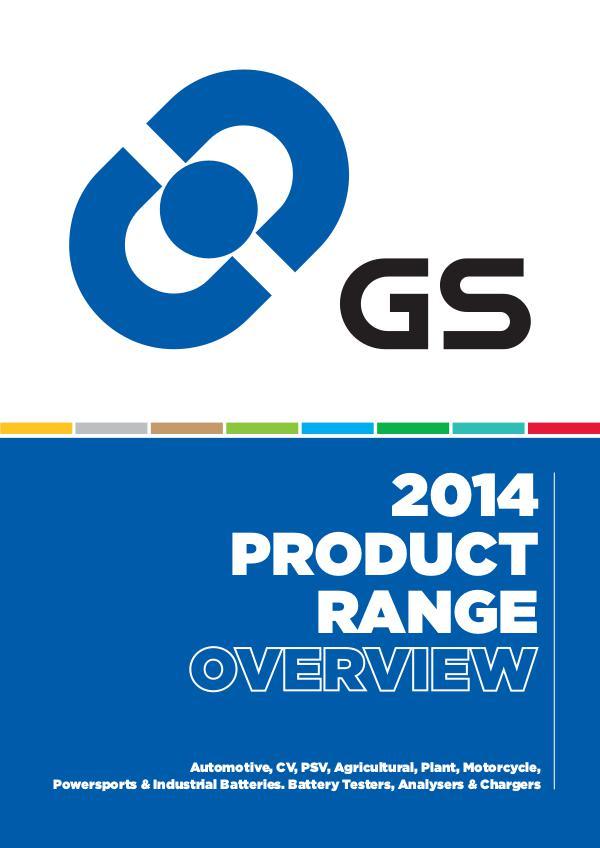 FDrive GS Batteries product range overview