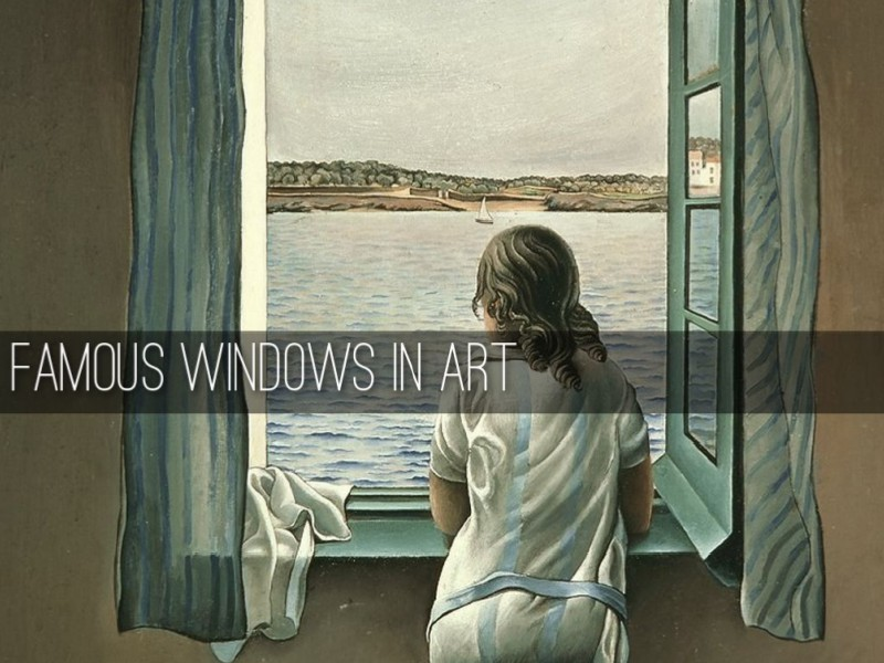 Famous Windows In Art Feb. 2015