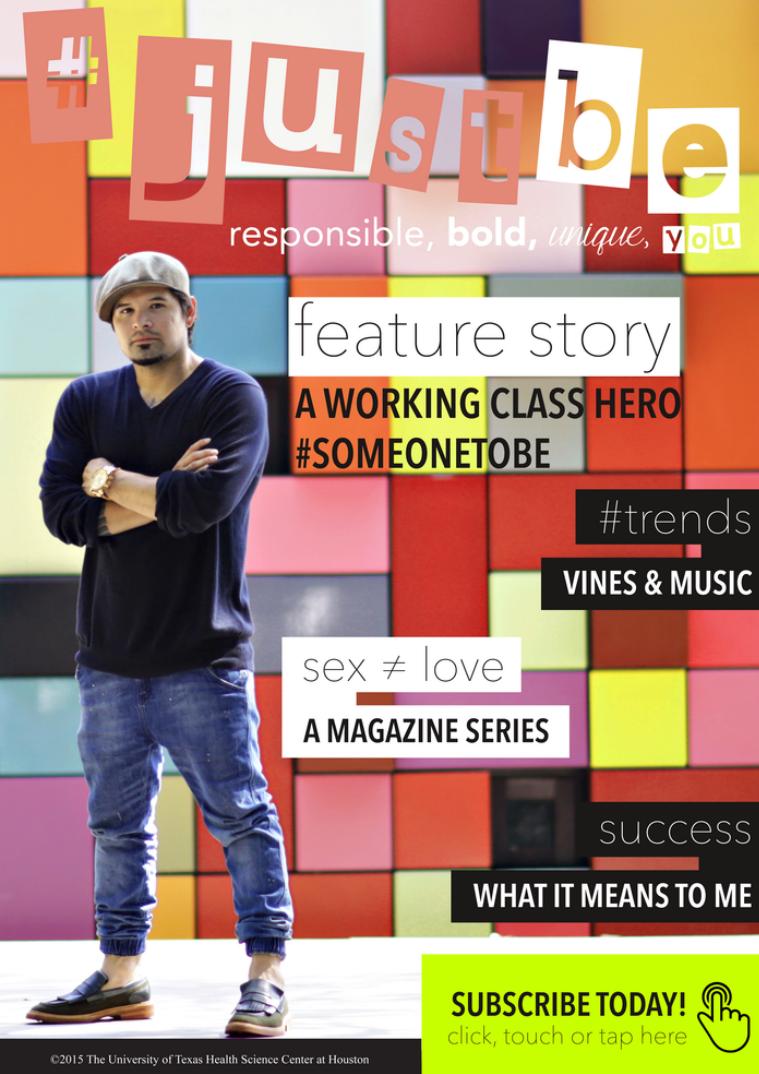 #JustBe Magazine August 2015