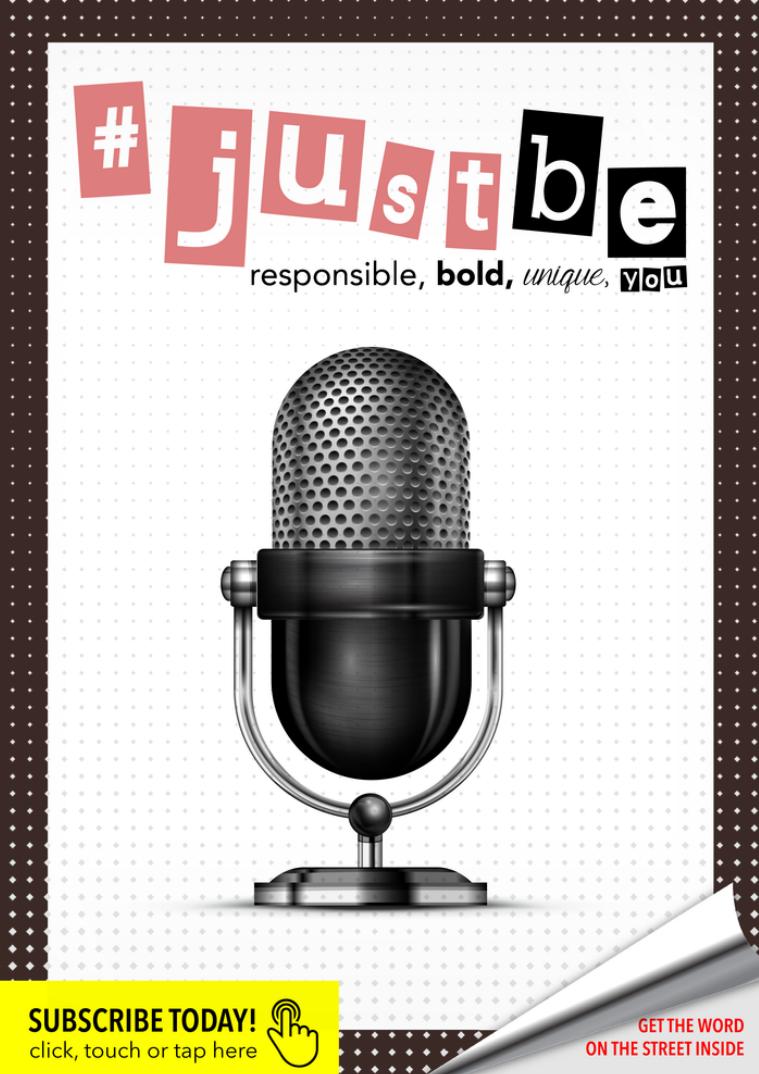 #JustBe Magazine October 2015