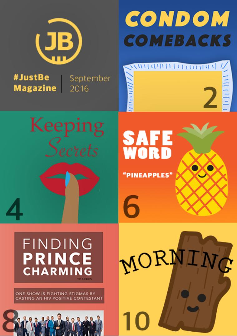 #JustBe Magazine The Comeback Issue