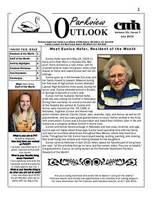 Parkview Healthcare Facility's Parkview Outlook