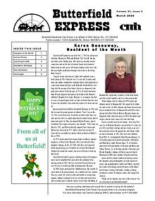 Butterfield Residential Care Center's Butterfield Express