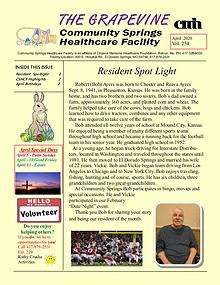 Community Springs Healthcare Facility's The Grapevine
