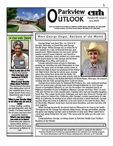 Parkview Health Care Facility's Parkview Outlook