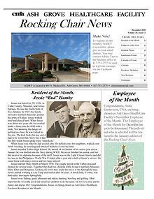 Ash Grove Healthcare Facility Rocking Chair News