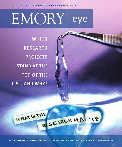 2015 Emory Eye Magazine