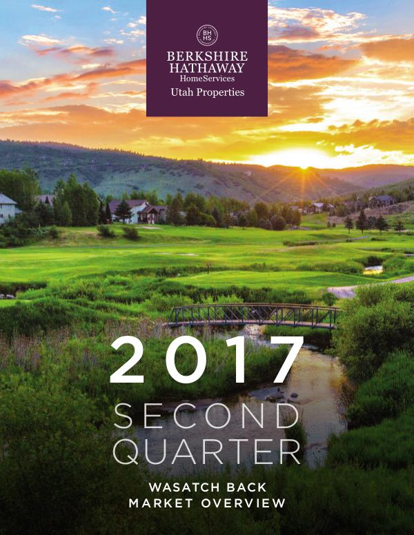 Park City and Heber Valley Market Report PCHeberEastSuCo_Q2 2017_FINAL
