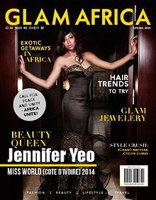 Glam Africa Spring 2015 (Jennifer Yeo)