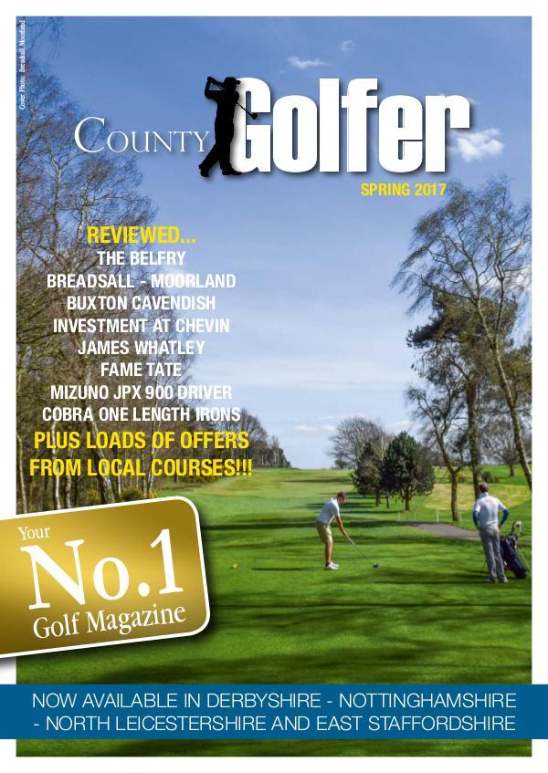 County Golfer Magazine Spring 2017