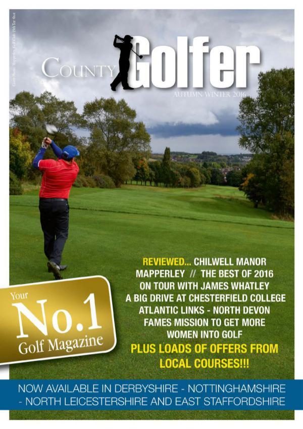 County Golfer Magazine Autumn 2016