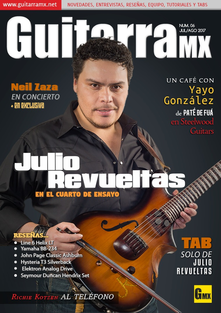 Revista GuitarraMX JUL/AGO 2017