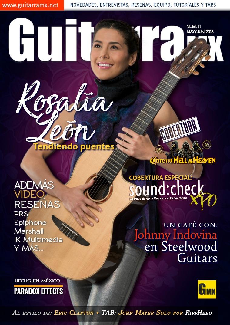 Revista GuitarraMX MAY/JUN 2018