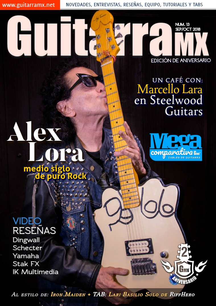 Revista GuitarraMX SEP/OCT 2018