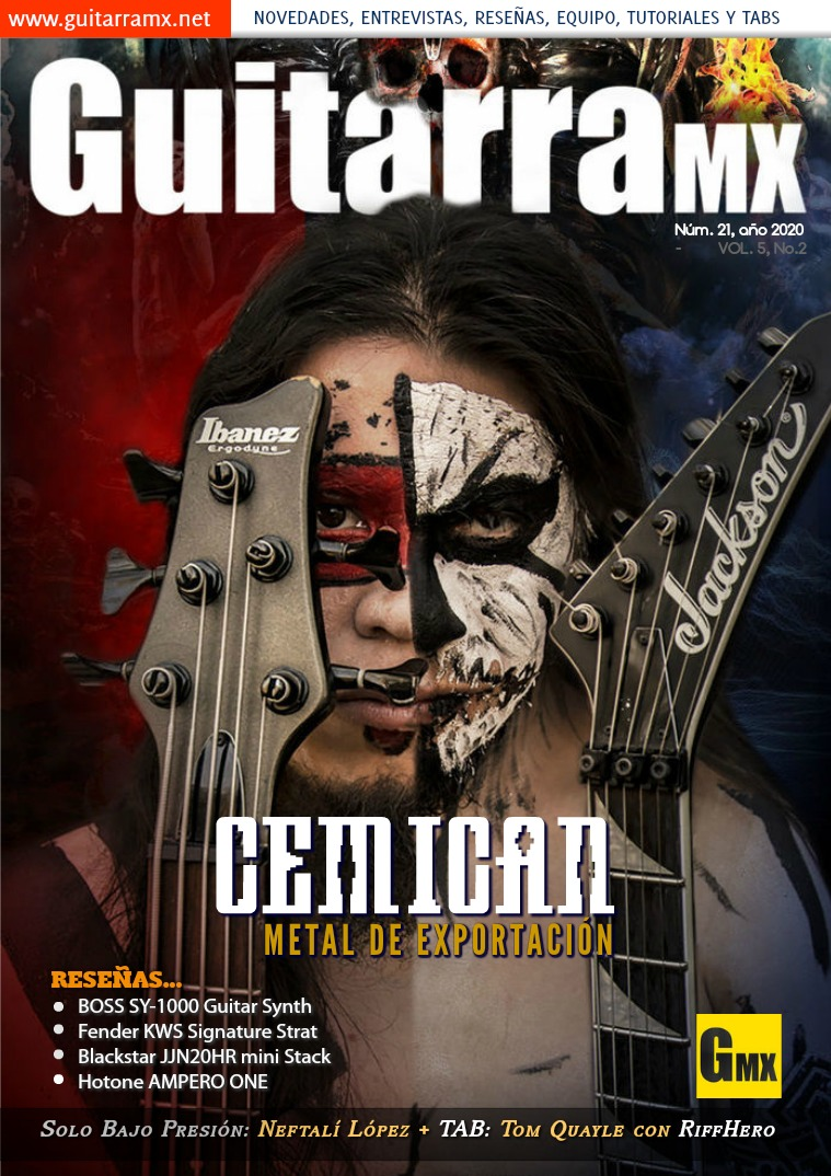Revista GuitarraMX NÚMERO 21 - 2020