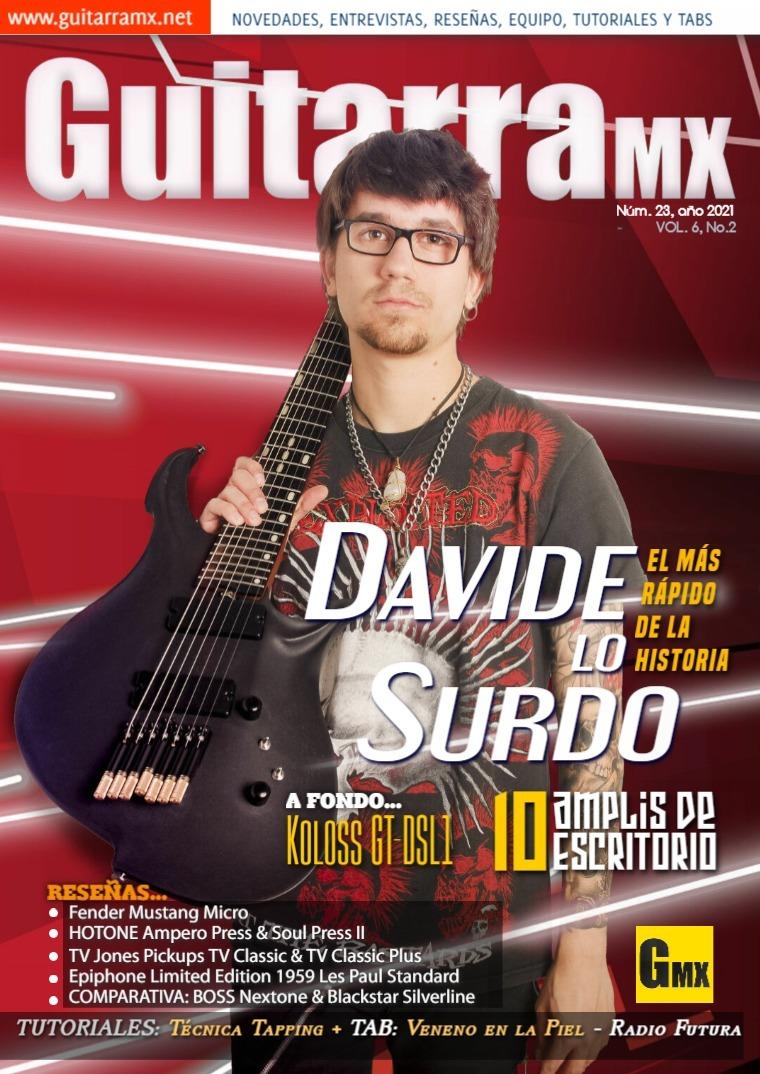 Revista GuitarraMX NÚMERO 23 - 2021