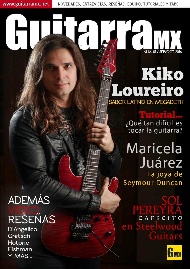 Revista GuitarraMX SEP/OCT 2016