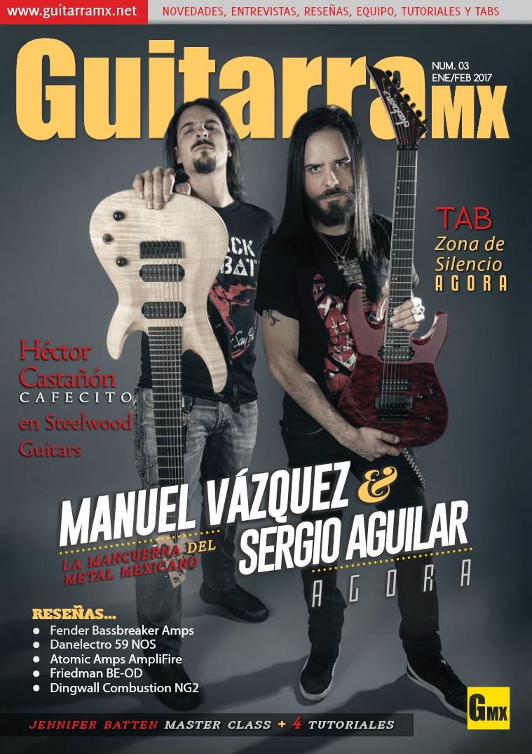 Revista GuitarraMX ENE/FEB 2017
