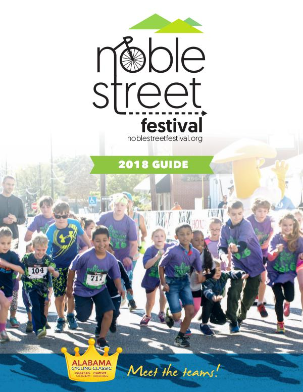 INSIGHT Magazine Noble Street Festival Guide 2018