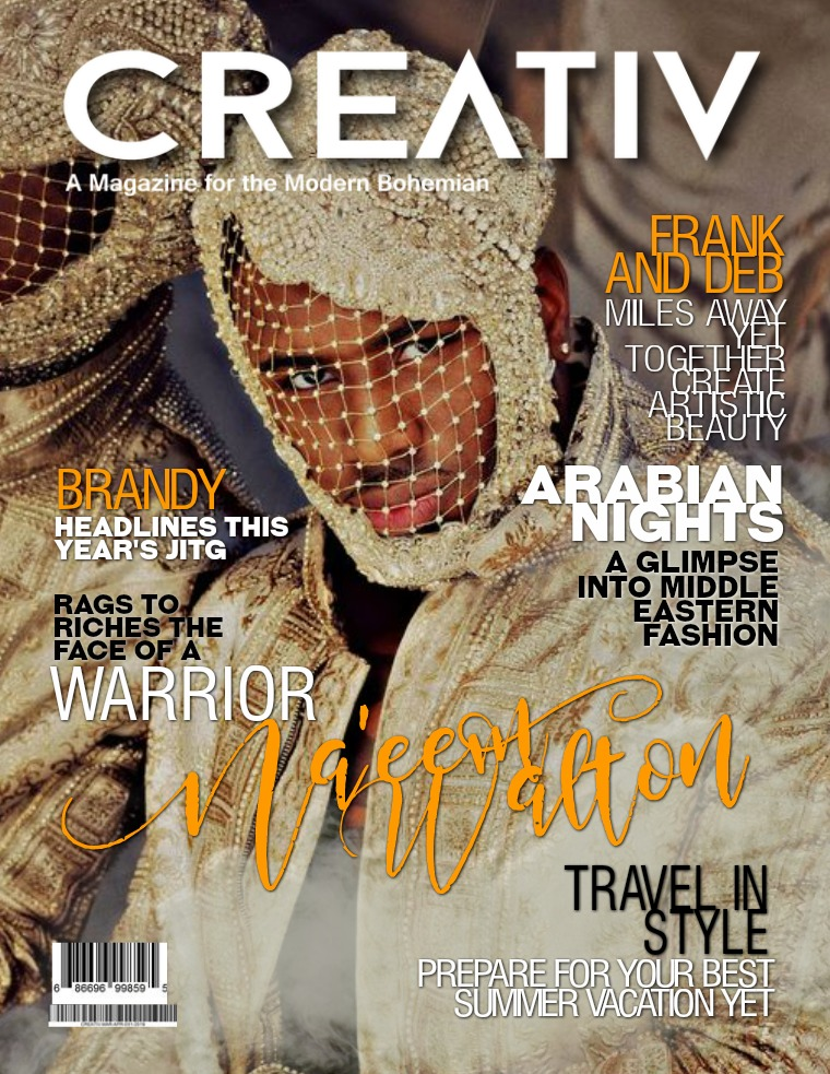CREATIV MODERN BOHEMIAN MAGAZINE. CREATIV MAR - APR 2019