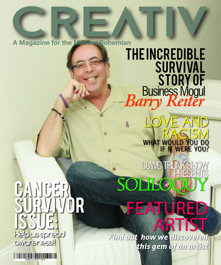 CREATIV MODERN BOHEMIAN MAGAZINE. CREATIV MAG - AUG- OCT 2015