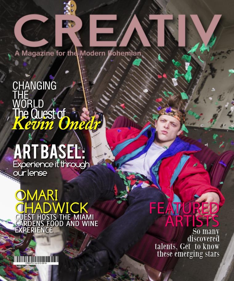 CREATIV MODERN BOHEMIAN MAGAZINE. CREATIV MAG - NOV -JAN 2016