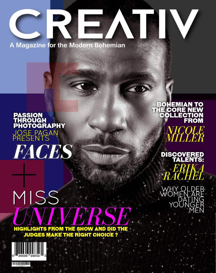 CREATIV MODERN BOHEMIAN MAGAZINE. CREATIV DEC - JAN 2017