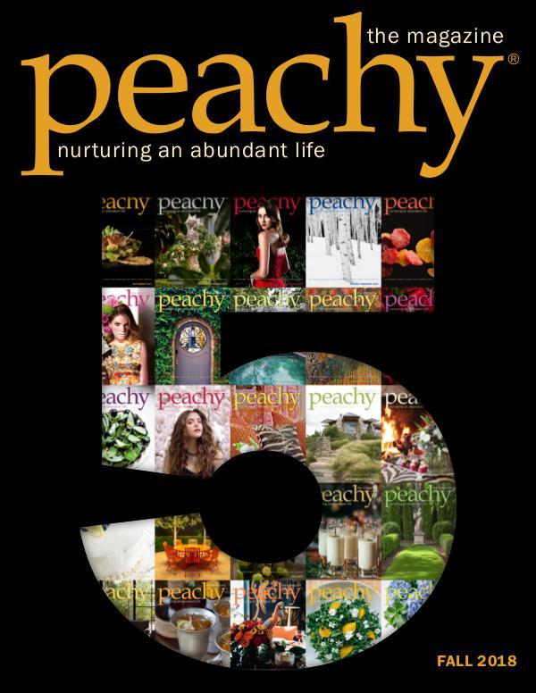 Peachy the Magazine Fall 2018