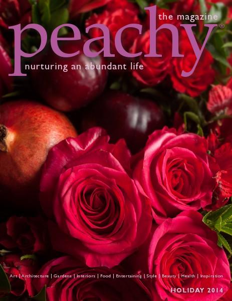 Peachy the Magazine Holiday 2014