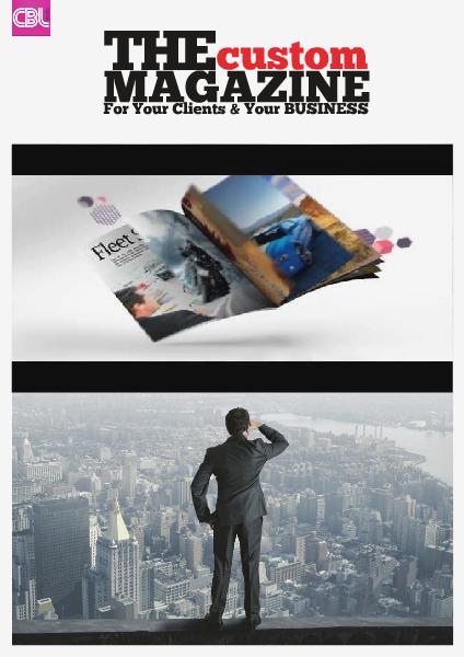 The Custom Magazine Custom Magazine
