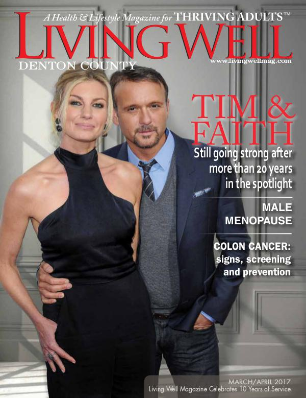 Denton County  Living Well Magazine March/April 2017