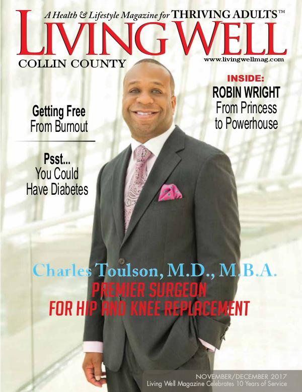 Collin County Living Well Magazine November/December 2017