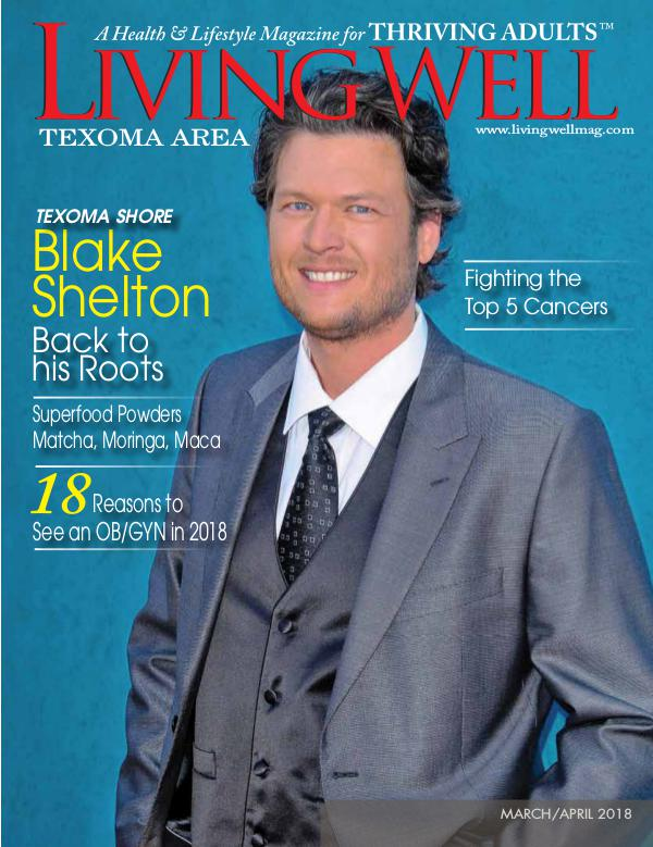 Texoma Living Well Magazine March/April 2018