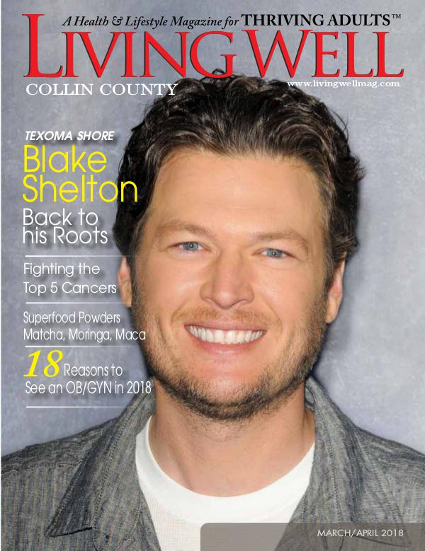 Collin County Living Well Magazine March/April 2018