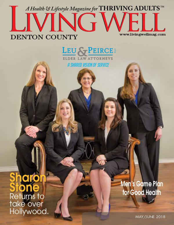 Denton County  Living Well Magazine May/June 2018