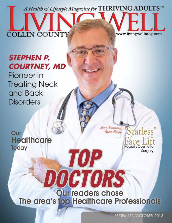 Collin County Living Well Magazine September/October 2018