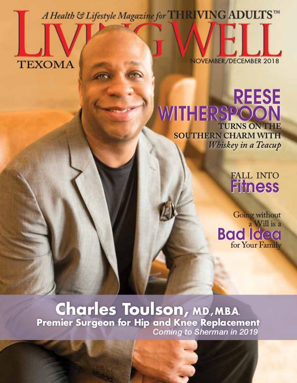 Texoma Living Well Magazine November/December 2018