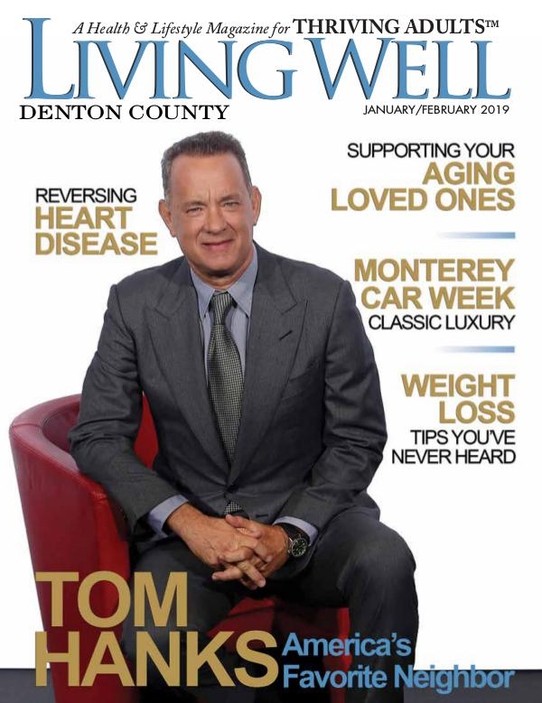 Denton County  Living Well Magazine January/February 2019