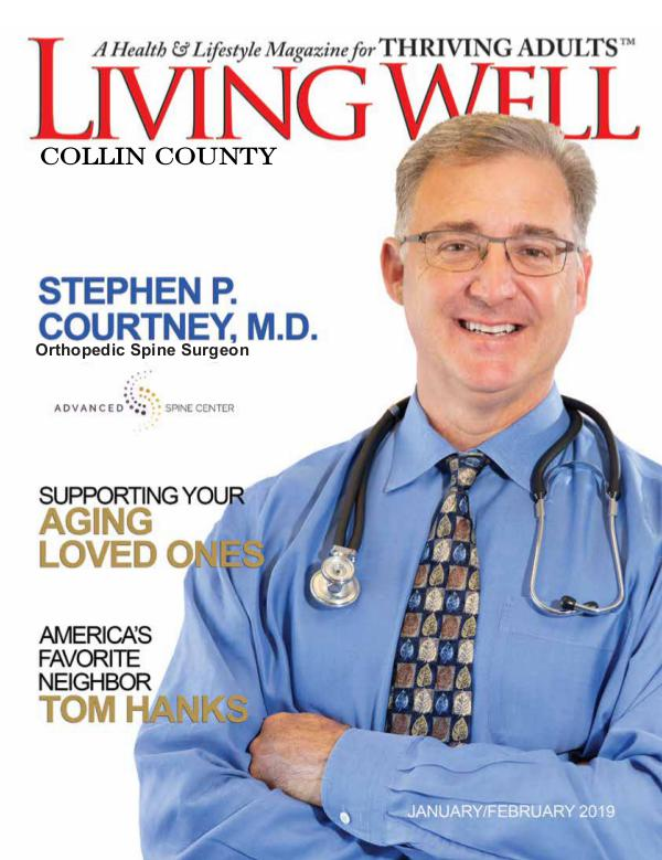 Collin County Living Well Magazine January/February 2019