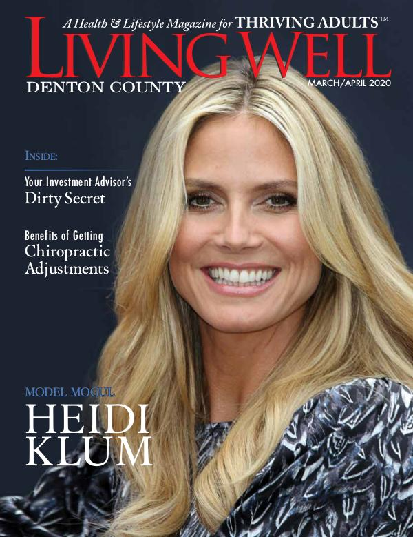Denton County  Living Well Magazine March/April 2020