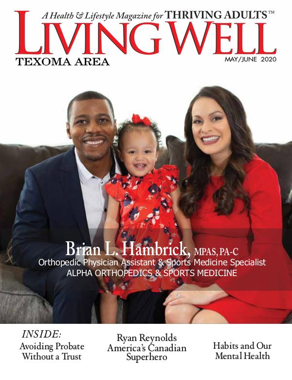 Texoma Area Living Well Magazine May/June 2020