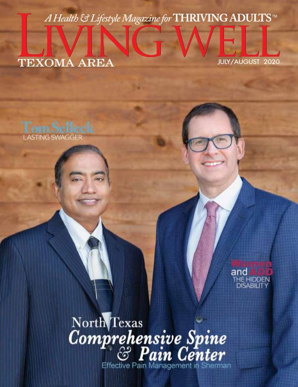 Texoma Area Living Well Magazine July/August 2020