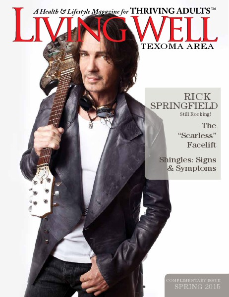 Texoma Living Well Magazine Spring 2015