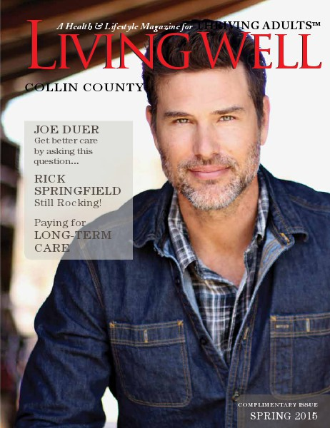 Collin County Living Well Magazine Spring 2015