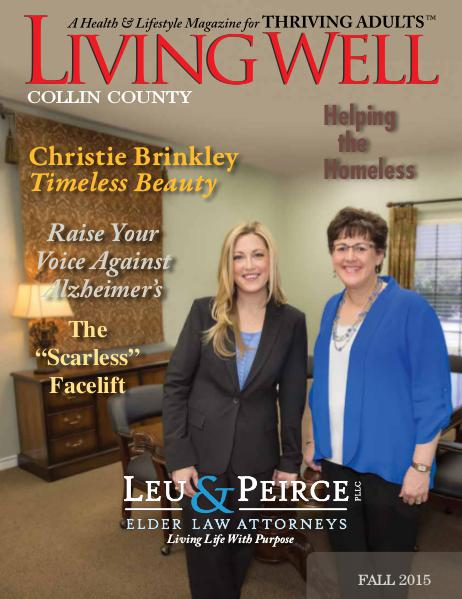 Collin County Living Well Magazine Fall 2015
